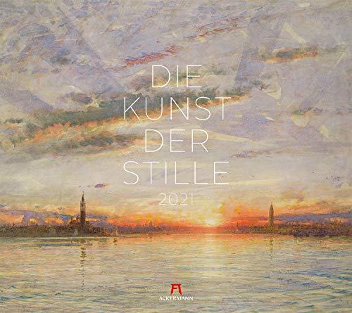 Die Kunst der Stille Kalender 2021, Wandkalender im Querformat (54x48 cm) - Kunstkalender (Impressionismus)