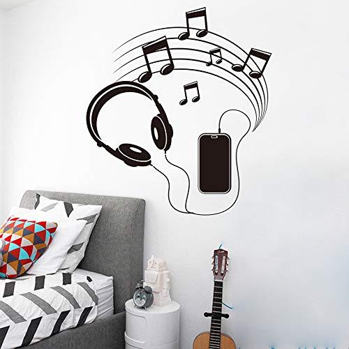 Tianpengyuanshuai mode muzieknoten wooncultuur woonkamer slaapkamer muurkunst kinderkamer