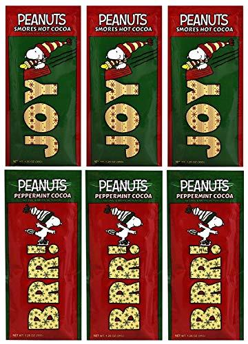 スヌーピー ペパーミント&スモア ココア(35g×6)Snoopy Peppermint &Smores Hot Cocoa Packet(1.25 oz×6)