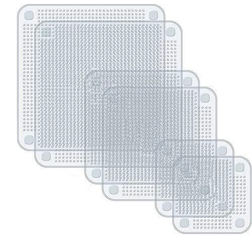 Kaikso-In Fundas elásticas de silicona para cuencos, 6 unidades, 3 tamaños, reutilizables, ampliables, de silicona, para lavaplatos, microondas, horno y congelador.