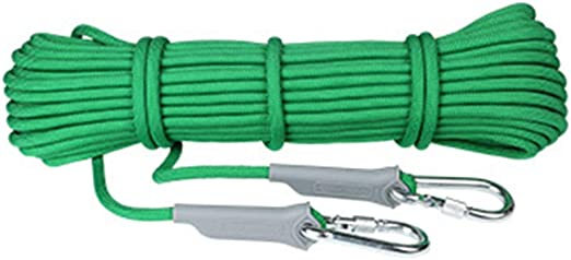 Cuerda auxiliar de escalada, 10 mm de diámetro Montañismo ...