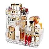 LBLA Organisateur de Maquillage,360 Degrés Rotatif Bijoux Rangement Maquillage Cosmétique,8 Couches pour Maquillage et...
