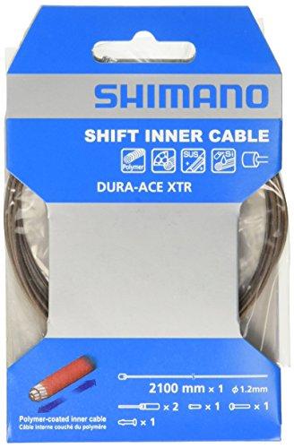 シマノ ポリマーコーティング シフトインナーケーブル(φ1.2mm×2100mm/1パック) Y63Z98950
