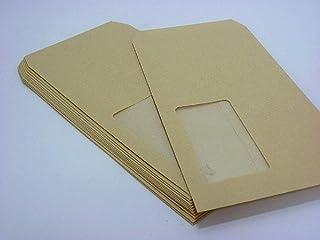 長3封筒 クラフト 70g A窓付/枠なし 1,000枚(3A0700)
