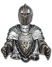 YOKOKO Toilet Paper Holders Roll Medieval Statue Knight to Remember Gothic Bathroom Decor Paper Towel Holder