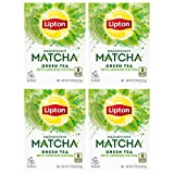 Lipton Magnificent Matcha Tea Bags For a Warm Beverage Green Tea Made With Real Matcha 15 Tea Bags 4 Count