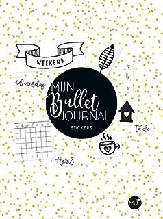 Mijn bullet journal: stickers