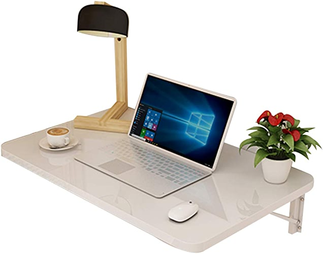 YH Les Tables De Bureau D'ordinateur Muraux Chassis De Table Pliable, du Contreplaqué, 4 Couleurs, Taille 10 A+ (Taille   80x40CM)