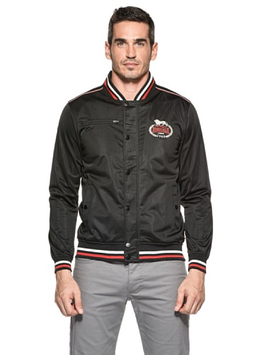 Lonsdale Men Tricot Training Jacket Luther Blouson, Noir (Schwarz), (Taille fabricant: Small) Homme