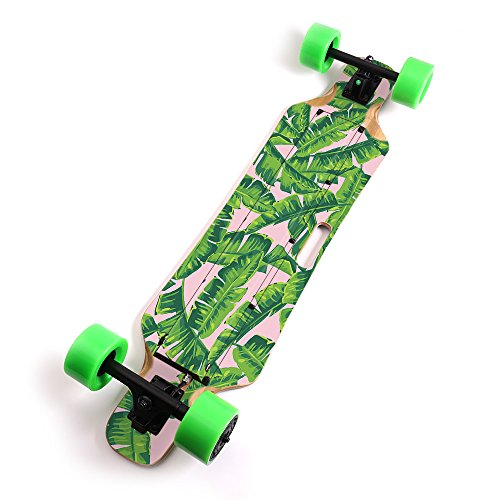 MightySkins Skin Compatible with Blitzart Huracane 38' Electric Skateboard - Jungle Glam | Protective, Durable, and Unique Vinyl Decal wrap Cover | Easy to Apply, Remove | Made in The USA