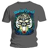 Photo de Motorhead Overkill T-Shirt, Gris, XL Homme