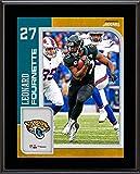Leonard Fournette Jacksonville Jaguars 10.5' x 13' Sublimated Player Plaque - NFL Player Plaques and Collages