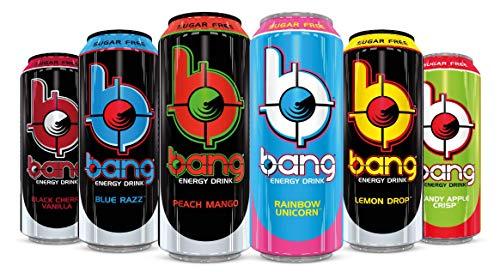 Bang Energy Drink inkl. Einweg Pfand (Mix Box, 6x500ml)