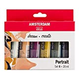 Talens Amsterdam - Juego de pinturas acrílicas (6 x 20 ml)