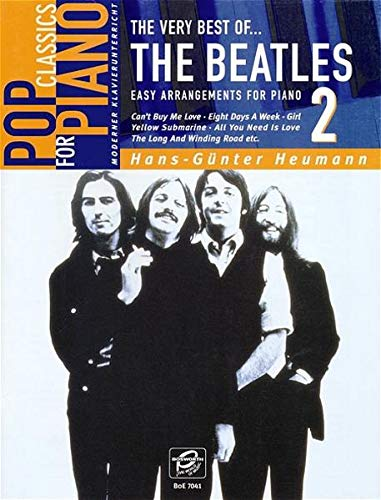 The Very Best Of... The Beatles Book 2: Songbook für Klavier: Easy Arrangements for Piano by Hans-GüNter Heumann