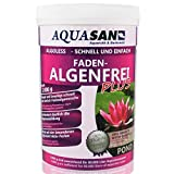 AQUASAN Gartenteich ALGOLESS Faden-Algenfrei Plus (GRATIS Lieferung in DE - Beseitigt, stoppt Fadenalgen im Teich. Der Fadenalgen-Entferner, Fadenalgen-Vernichter, Fadenalgen-Mittel), Inhalt:2 kg