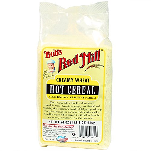 Bob's Red Mill Cereal Farina Creamy Wheat, 24-Ounce (Pack of 4)