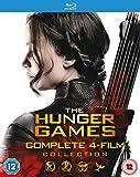 Hunger Games: Complete 4-Film Collection (4 Blu-Ray) [Edizione: Regno Unito] [Blu-ray]