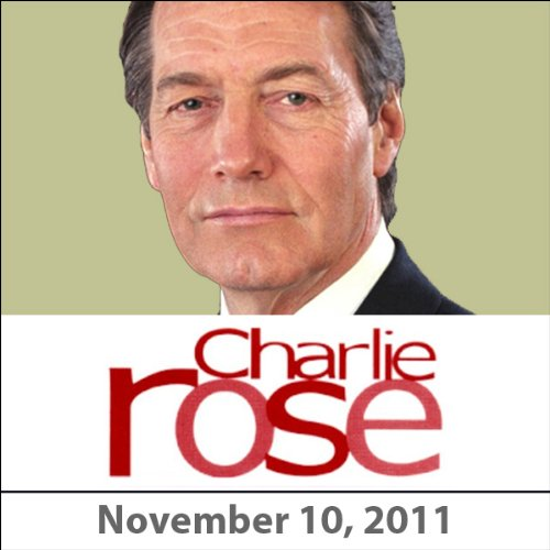 Charlie Rose: Harold Bloom, Stephen Greenblatt, and Michael Boyd, November 10, 2011 audiobook cover art