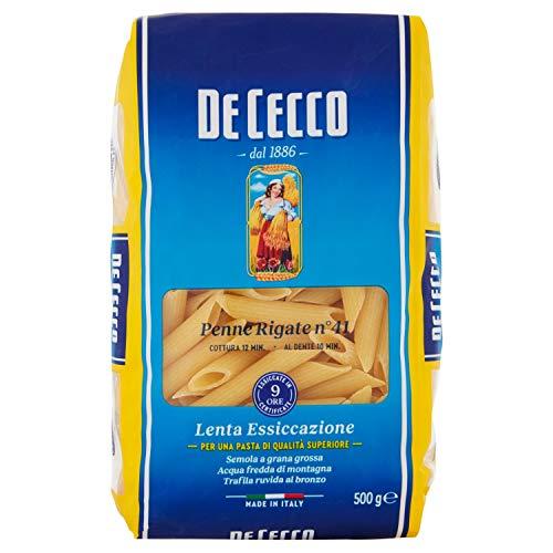 De Cecco Penne Rigate - 1 Confezione da 500 g