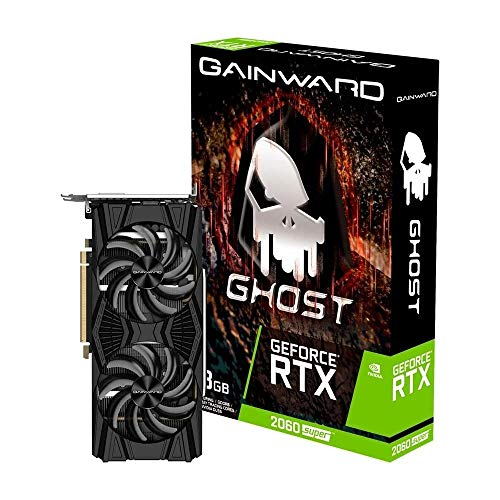Gainward GeForce RTX 2060Super Ghost Grafikkarte - 3X DisplayPort / 1x HDMI / 1x DVI-D