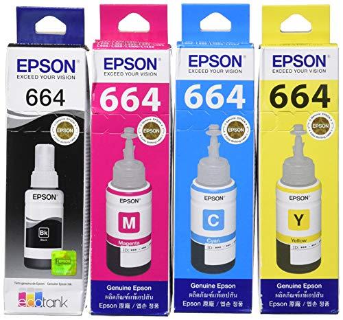 Epson EPT664BK/C/M/Y (2) - Cartucho de tinta (4 unidades)