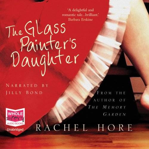 The Glass Painter's Daughter  audiobook cover art