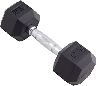 Body Sport Rubber Encased Hex Dumbbell