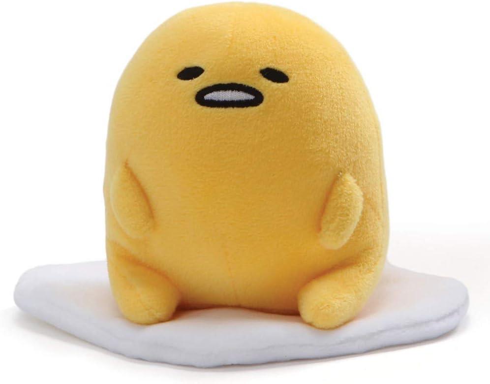 "Sanrio Gund Gudetama Lying Reindeer Christmas The Lazy Egg Plush 5/"" Doll Mascot"