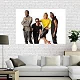 NOVELOVE Black Eyed Peas Funk Hip Hop Team Sänger Poster