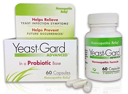 YeastGard Advanced Homeopathic Remedy Capsules - 60 count Bottle