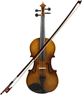 TOOGOO 4/4 Full Size Acoustic Violin Fiddle Wood with Case Bow Rosin Violin