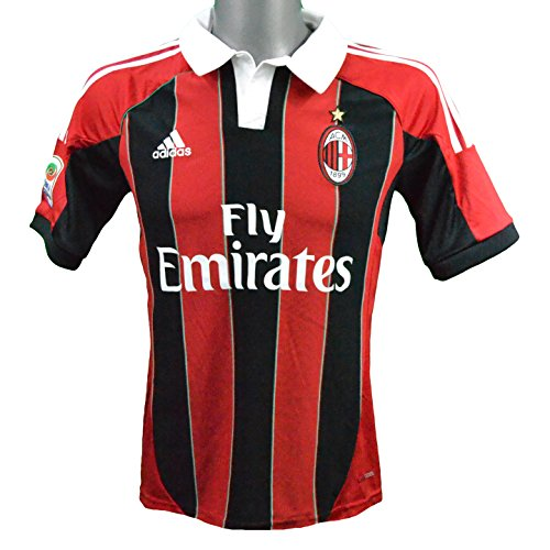 adidas Maillot Domicile Milan AC 2012/2013 Balotelli