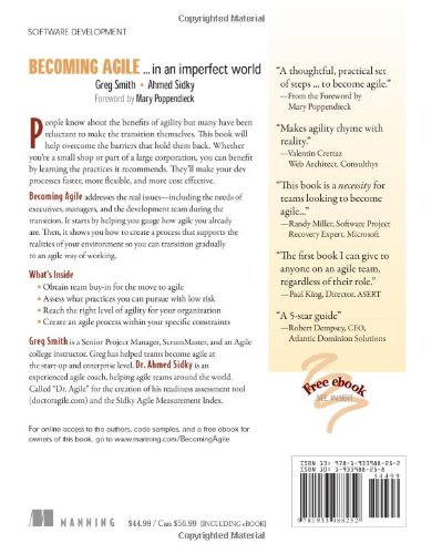 Becoming Agile: ...in an imperfect world: .....in a Imperfect World