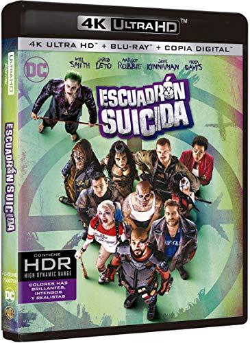 Escuadrón Suicida 4k Uhd [Blu-ray]