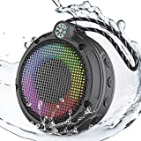 Ortizan cassa bluetooth impermeabile per doccia, IPX7 waterproof portatile wireless Bluetooth 5.0 altoparlanti...