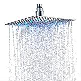 GuDoQi Ducha de Mano de 6 Inch Cabezal de Ducha con filtro de Aniones con Ahorro de agua Rociador de Ducha de lluvia de Presi/ón ajustable