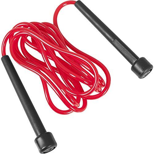 GORILLA SPORTS Springseil Speed Rope in versch. Farben und Längen Farbe Rot