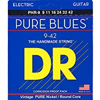DR エレキ弦 PURE BLUES ニッケル .009-.042 PHR-9