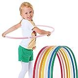 Hoopomania Hula Hoop pour Les Enfants, Pink, Ø 80cm