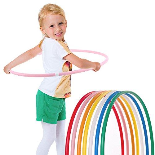 hoopomania® Hula Hoop pour Les Enfants, Pink, Ø 60cm