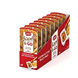 Contains 8 - 1.6 Ounce Biscoff & Go (Cookie Butter & Breadsticks Snack Packs) Non GMO, RSPO Certified Palm Oil, No Artificial flavors, colors, or preservatives. Vegan friendly. Does not contain nuts. Made in Belgium in a nut free facility. Irresistib...
