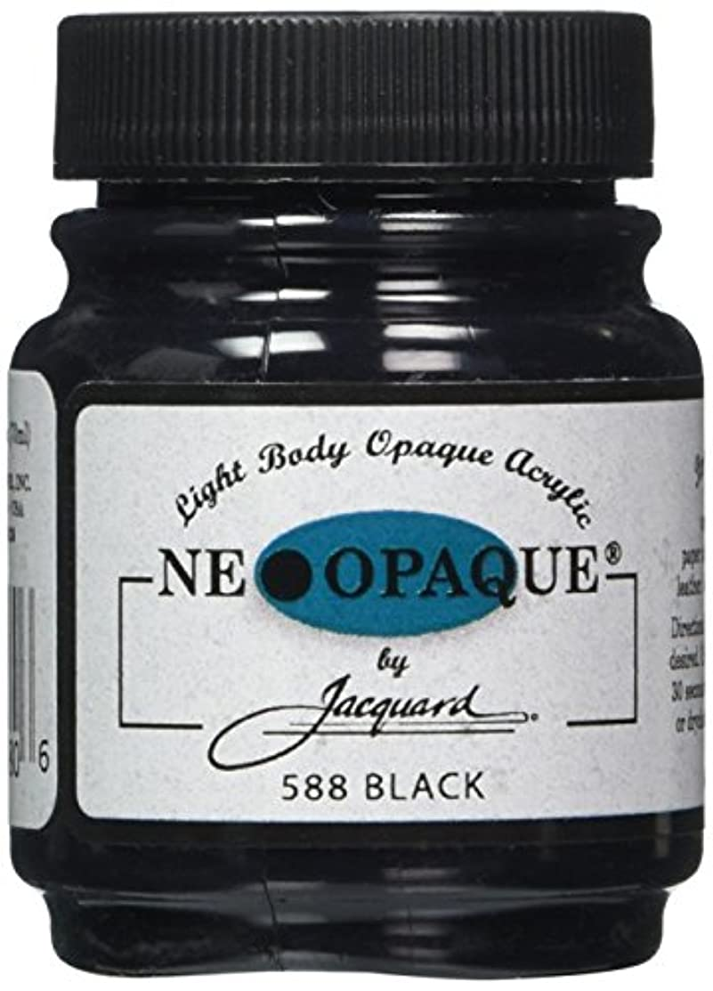 Jacquard Products 2-1/4-Ounce Neopaque Acrylic Paint, Black