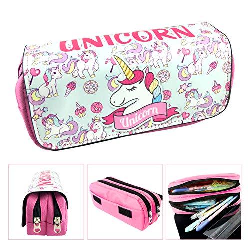Potlood Case Grote Capaciteit Eenhoorn Potlood Case Roze BETOY Pen Bag Potlood Case 20cm Eenhoorn voor Kinderen Tiener Student Opslag van briefpapier