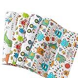 RICHTOP Papel de Regalo Para Cumpleaños -12 Hojas dobladas - 4 Diseños de Dibujos Animados-50CM * 74CM- Para Niño, Niños y Niñas en Fiesta, Navidad (No Enrollado)
