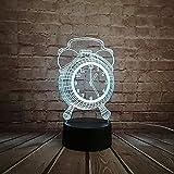 Diaporama 3D, lampe de chevet acrylique LED USB de veilleuse, cadeau parfait avec de...