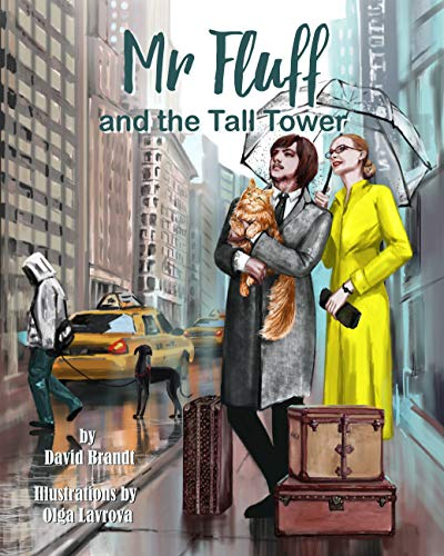 Mr. Fluff and the Tall Tower (The Adventures of Mr. Fluff Book 1) (English Edition)