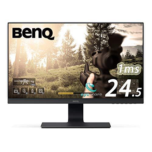 BenQ 24.5型ゲーミングモニター GL2580HM-S 24.5インチ/フルHD/TN/非光沢/1ms/ウルトラスリムベゼル/スピー...