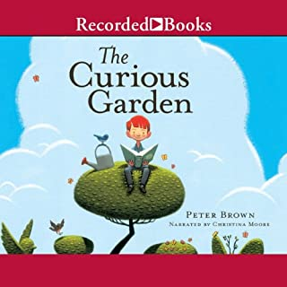 Curious Garden, The audiobook cover art