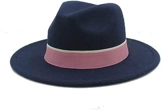 2019 Good Hat For Men Women Winter Fedora Hat Outdoor Travel Hat Wide Brim Church Fascinator Hat Casual Wild Jazz Hat, Size 56-58CM